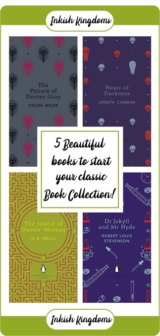 5 beautiful books to start your seamlessly classic book collection!