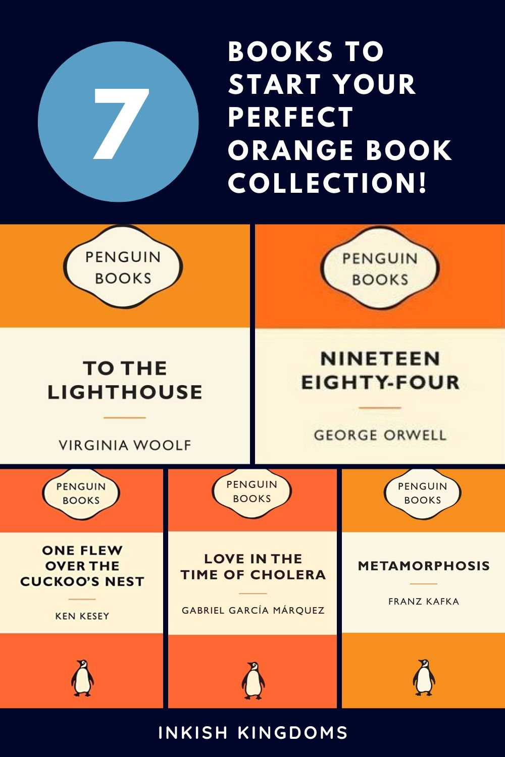 7 books to start your perfect orange book collection!.