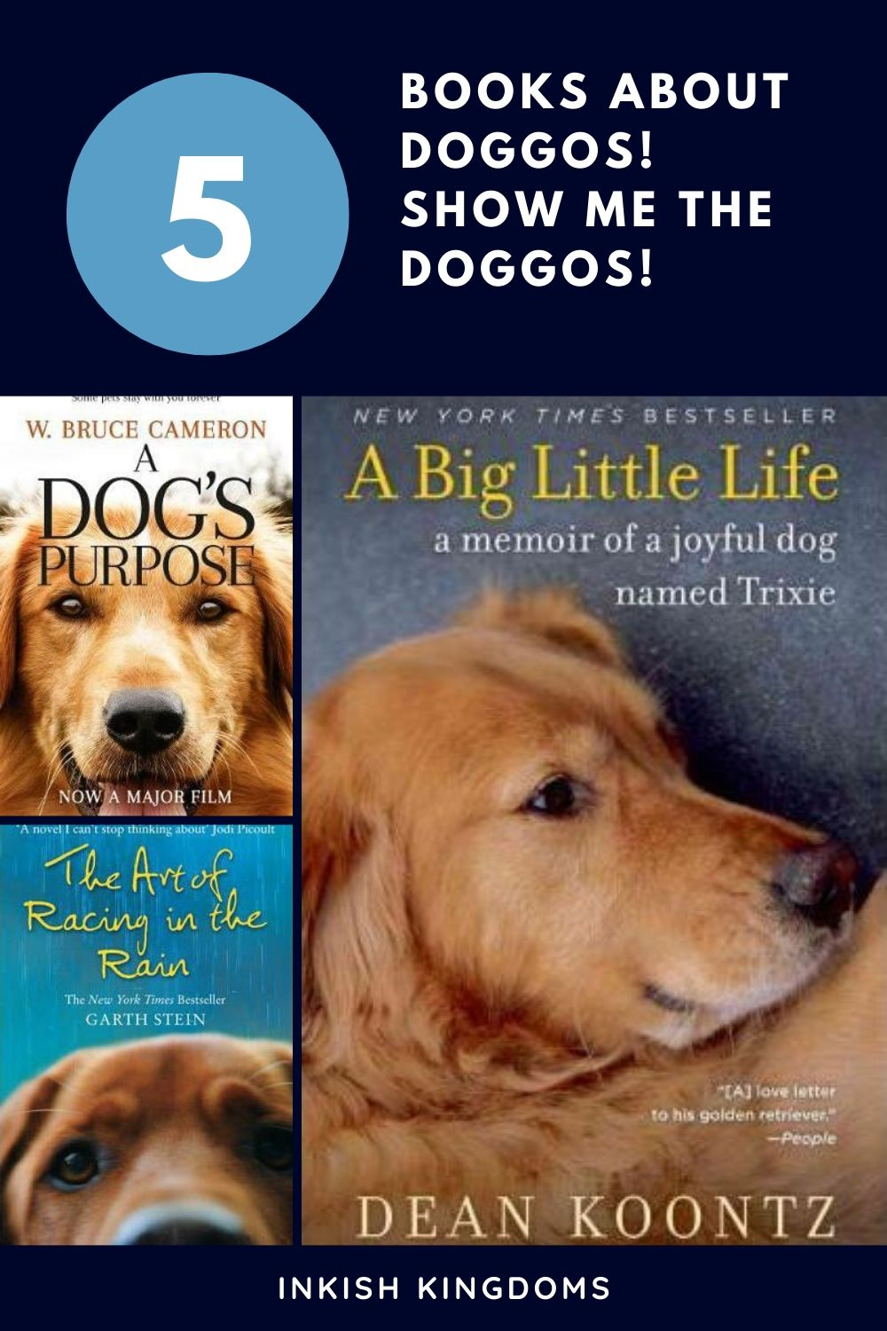 books about doggos! Show me the doggos!