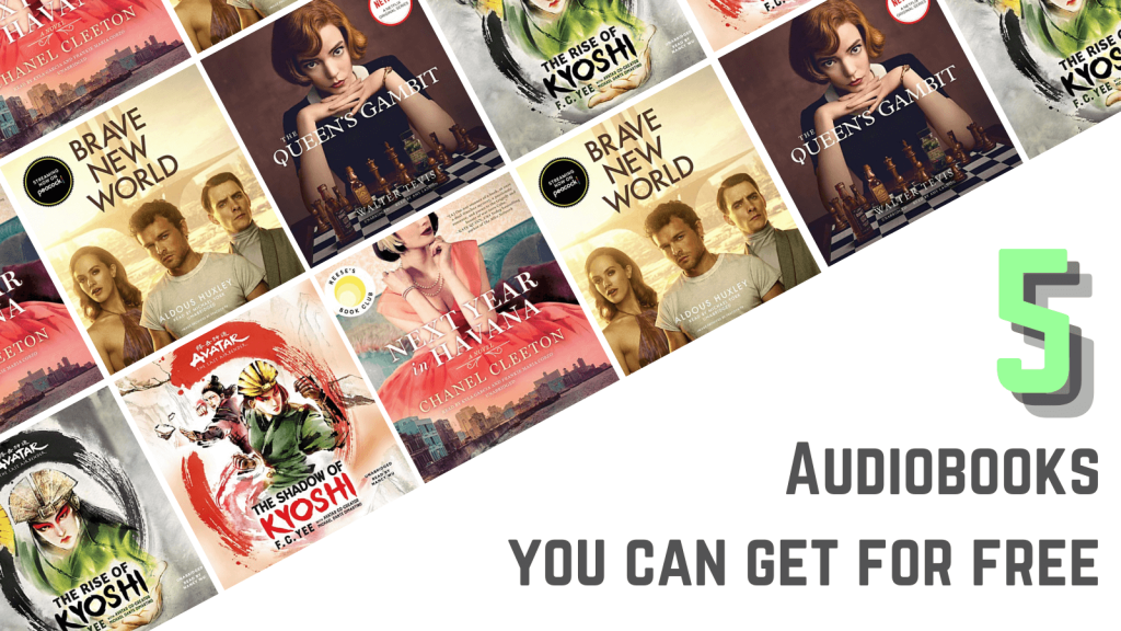 5 audiobooks you can get for free