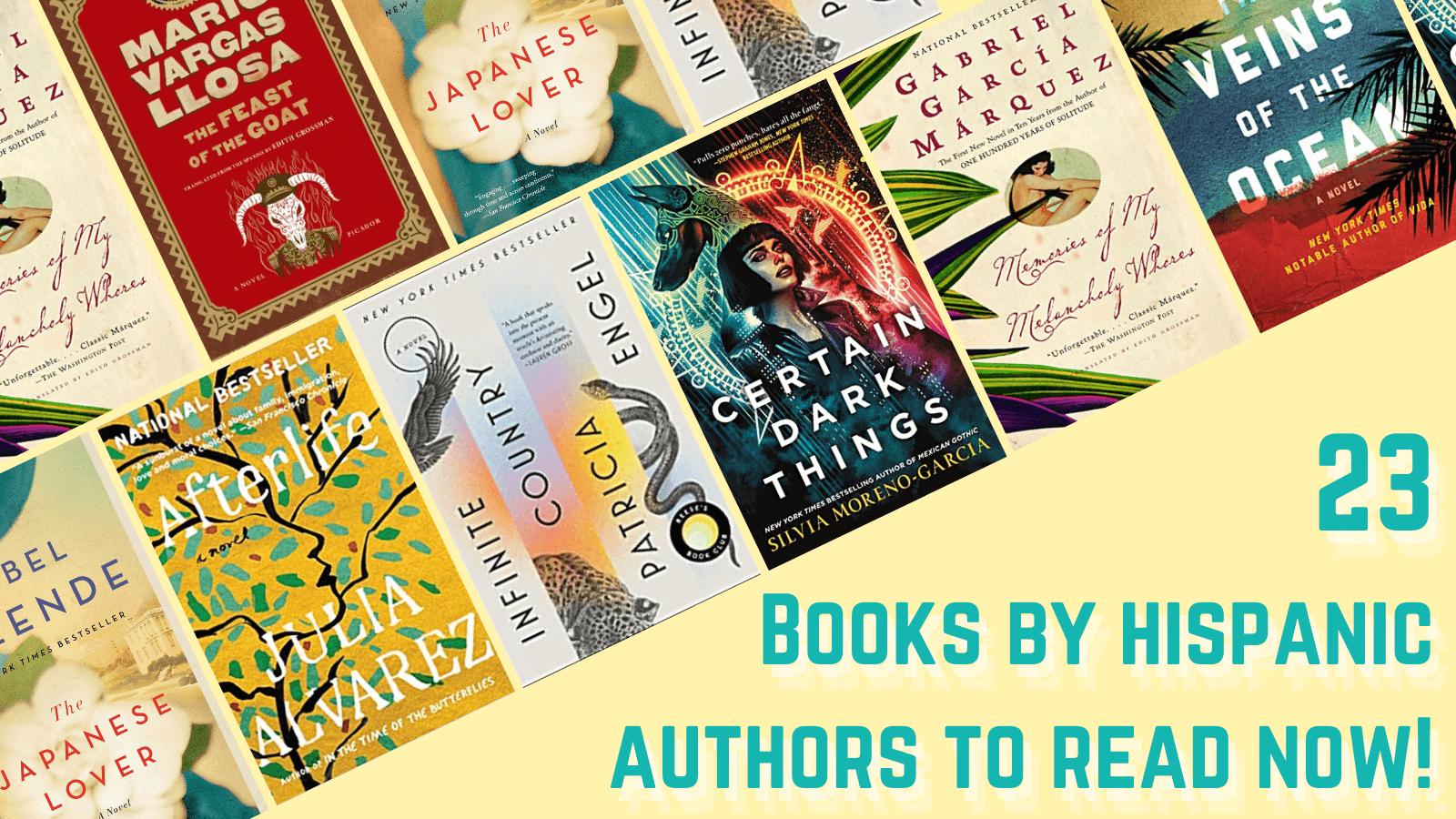23 books by hispanic authors to read now hispanic heritage month