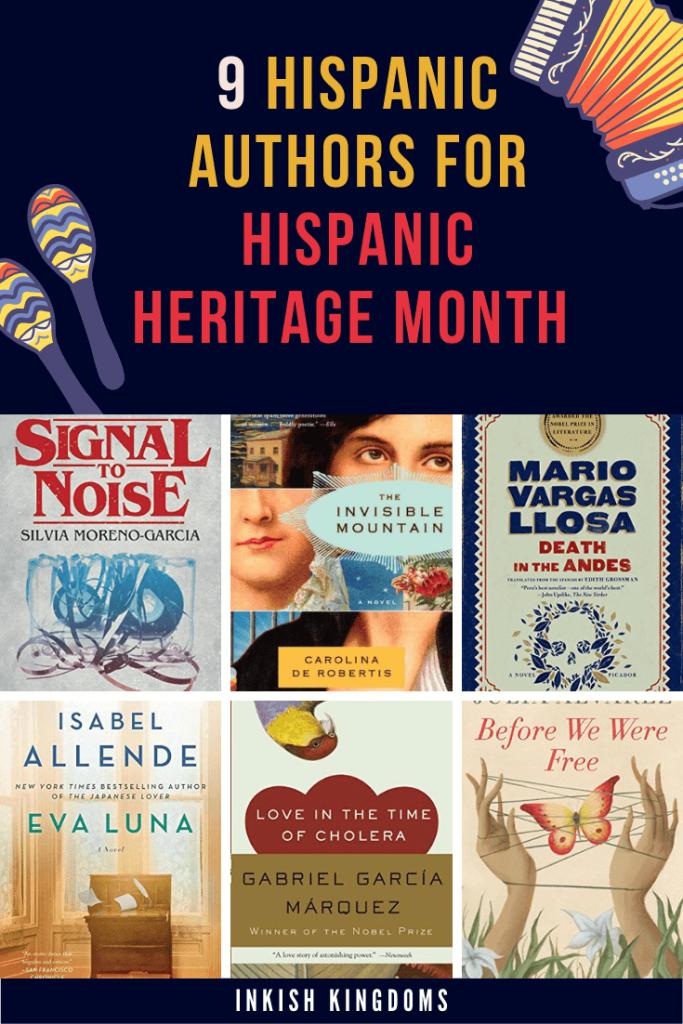 9 Hispanic authors to read for Hispanic Heritage Month